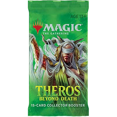 Magic The Gathering CCG: Theros Beyond Death Collector Booster: Toys & Games [5Bkhe1401457]