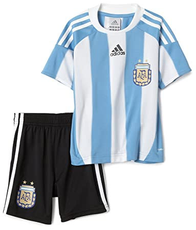 ab1dd4f9d Amazon.com   adidas Argentina Soccer Uniform Mini Kit   Sports Fan ...