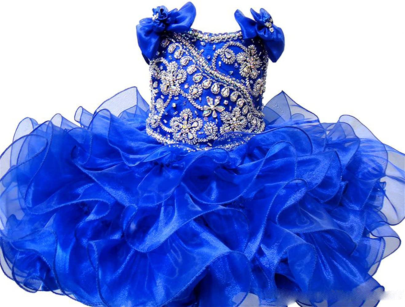 MSJME Baby Girls Wedding Party Gowns Pageant Cupcake Dress