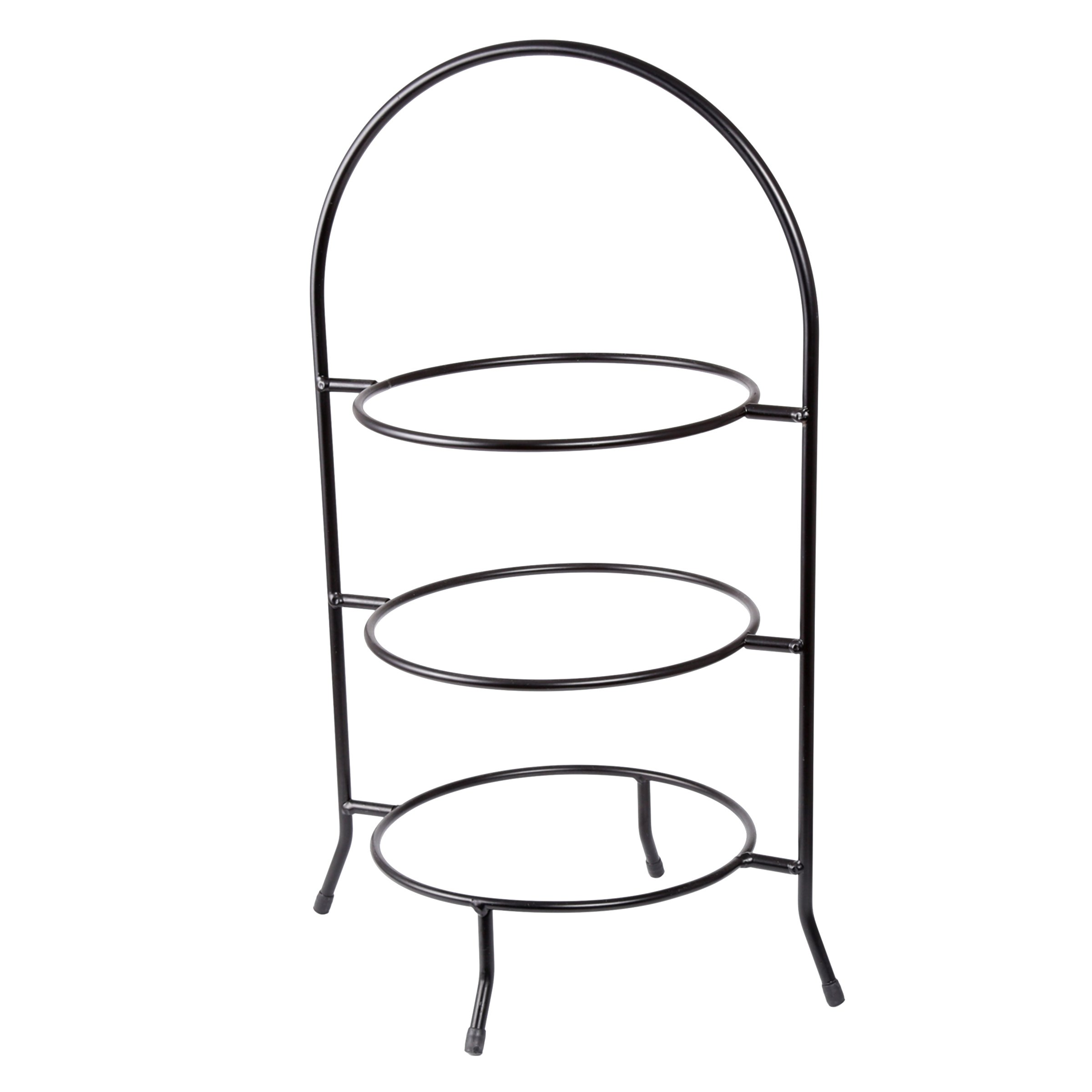 Creative Home 73045 3-Tier Dinner Plate Rack, 20-Inch H