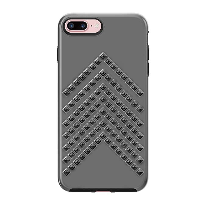 352b78d67 Amazon.com: Rebecca Minkoff iPhone 7 Plus Case, Star-Studded Case  [Protective] Designer Phone Case fits Apple iPhone 7 Plus - Gunmetal: Cell  Phones & ...