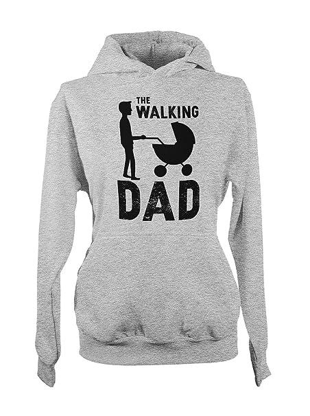 The Walking Dad Papa Vater Kapuzenpullover Hoodie