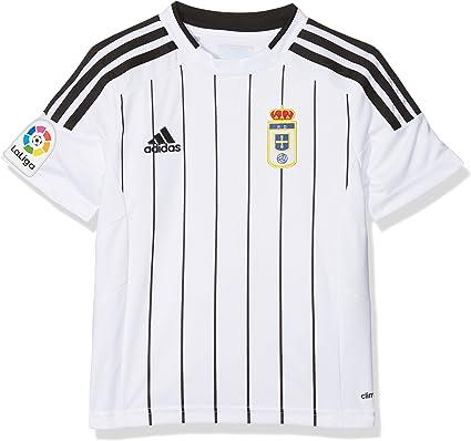 Profesor de escuela Transformador Norteamérica  adidas Fort14 Jsy Y P Tee Real Oviedo FC for Boys, White (White), 152:  Amazon.co.uk: Clothing