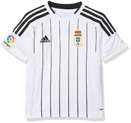 adidas Fort14 Jsy Y P Camiseta Real Oviedo Fc, Niños: Amazon ...