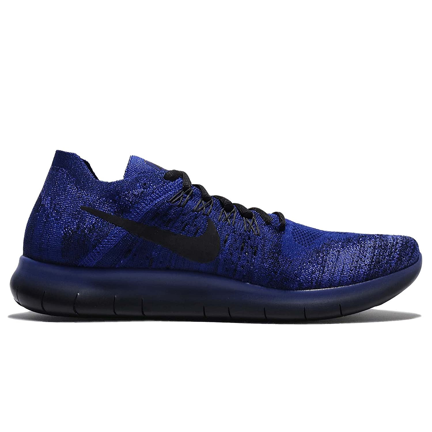 low priced 1623e e79bb ... italy amazon nike free rn flyknit 2017 880843 406 deep royal blue black  11 running e080e