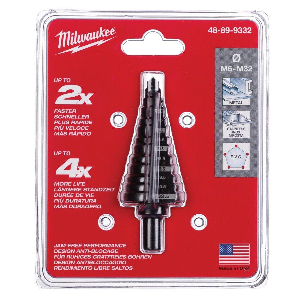 Milwaukee Stufenbohrer 48899332 M6-M32 1 W
