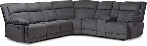 Baxton Studio SaBabette Sectional Sofa, gray