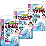 【ケース販売】グーン(GOO.N) やわらかフィットパンツ Lサイズ (9~14kg) 174枚(58枚入×3パック) 女の子