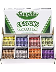 Crayola Large Crayon Classpack, Back to School Supplies, 8 Colors, 400 Count
