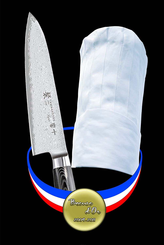 Amazon.com: Tamahagane San cuchillo de chef, 8 pulgadas ...