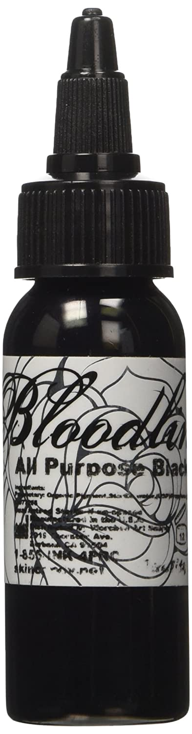 Bloodline Tattoo Ink - All Purpose Black - 1 ounce(29 milliliter)