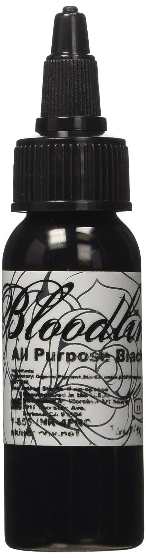 Bloodline Tattoo Ink All Purpose Black 1 Ounce (29 Milliliter)