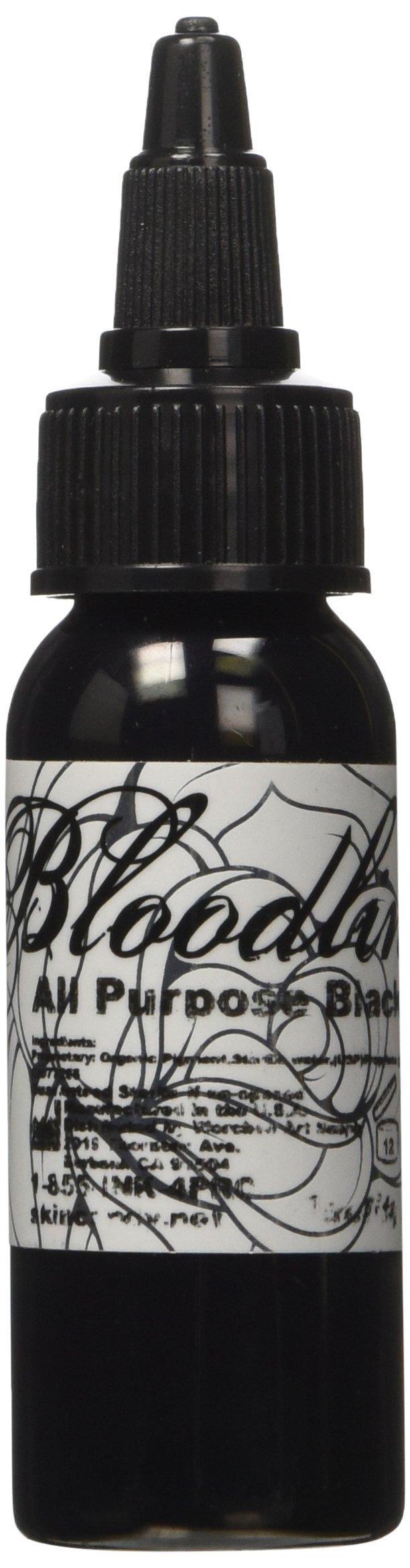 Bloodline Tattoo Ink - All Purpose Black - 1 ounce  (29 milliliter)