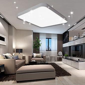 Vingo 60w Led Deckenleuchte Kaltweiss Sternenhimmel Wohnzimmerlampe
