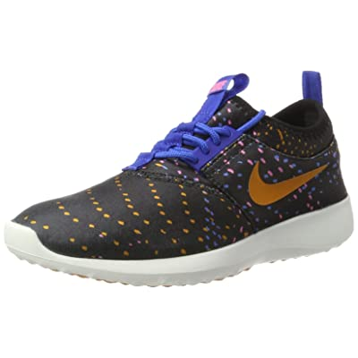 Nike Women's Juvenate Print Black/Sunset/Gm Royal/Dgtl Pnk Casual Shoe 5.5 Women US | Road Running