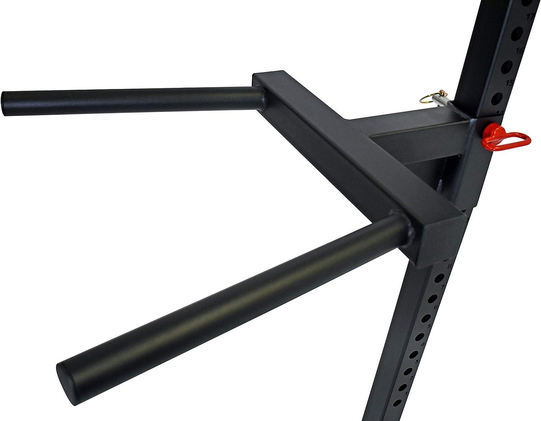 STRONG GAINS DB2 Dip Horn f/ür Rigs und Racks Dip-Barren