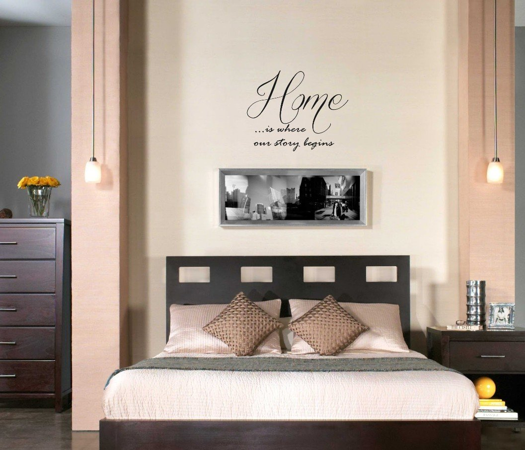 Home Is Where Our Story begins Vinyl Wall Decal