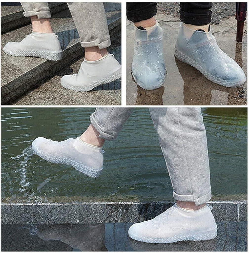echo4745 /Überschuhe Schuhbeutel Regen/überschuhe Aus Wasserdichtem Silikon wasserdichte Und rutschfeste Schuh/überzieher Wiederverwendbare
