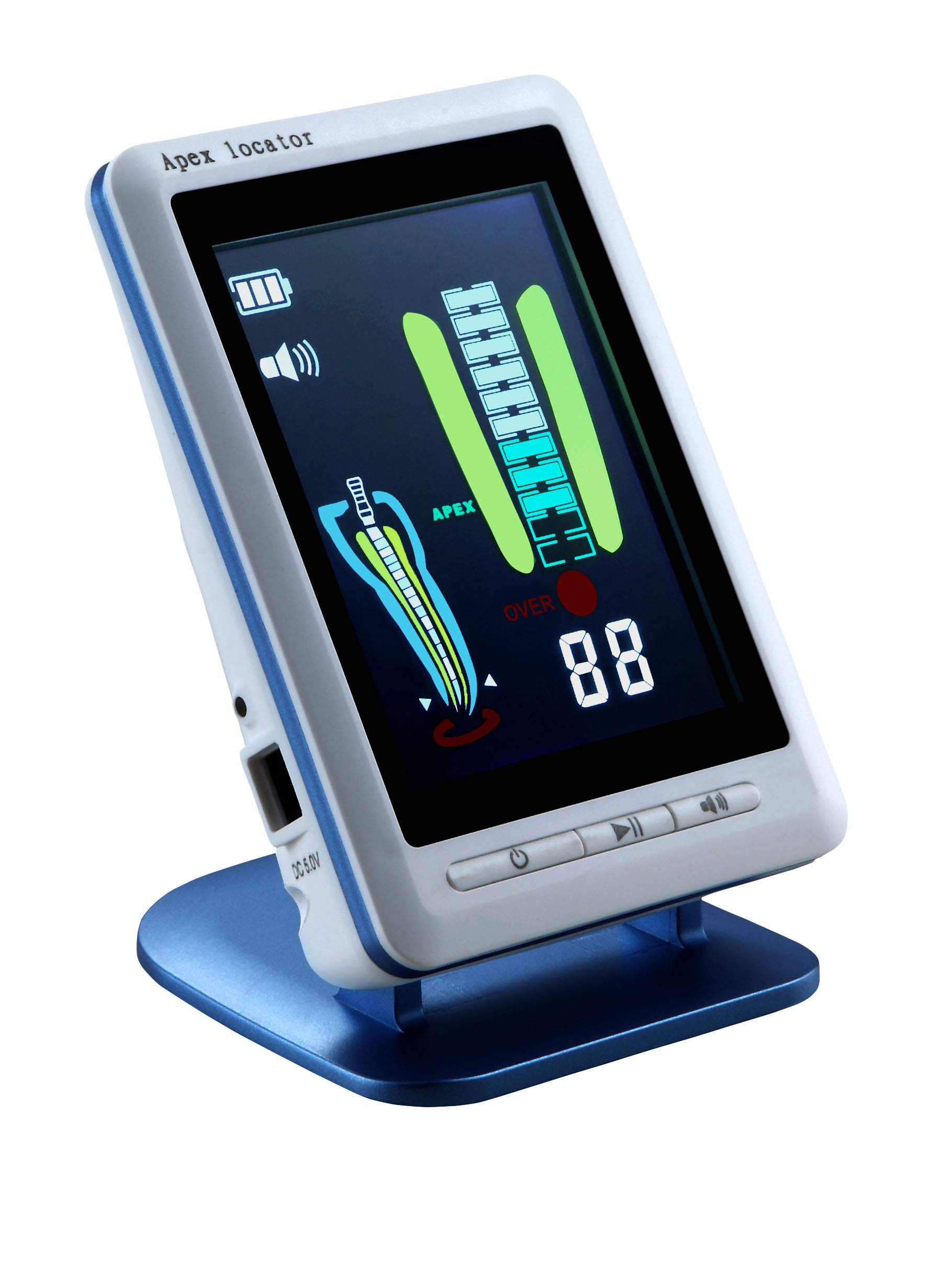 Aries Outlets LCD Screen 4.5 Inch Endodontic Apex Locator Root Canal Finder Endo Measure YS-RZ-C Blue Color by Aries Outlets