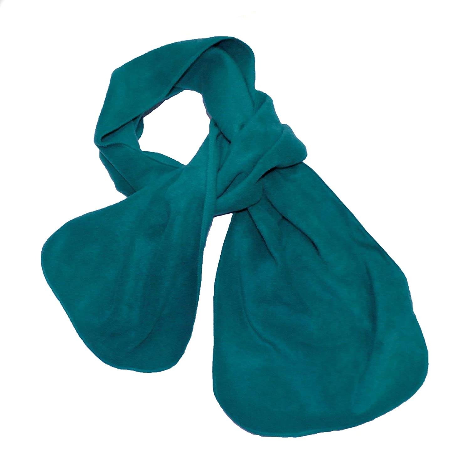 Brand New Good Quality Boys Girls Childs Polar Fleece Scarf - Matching School Colours - Great for Outdoors in the Winter - 45