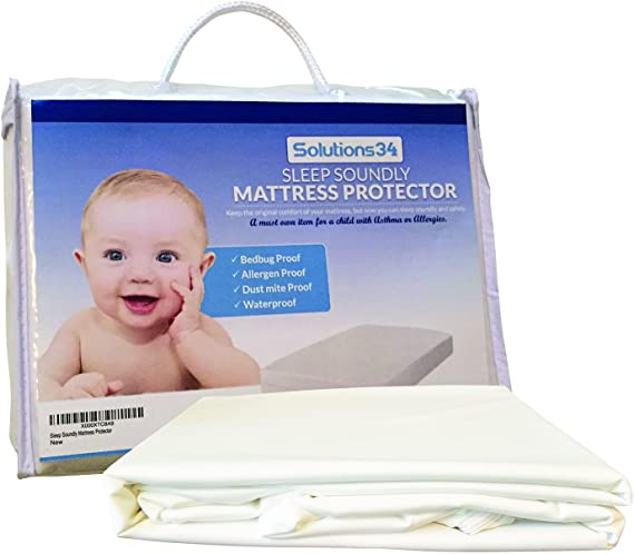 Best Crib Mattress Protector - Zippered Encasement Will Keep Your Baby Safe from Bed Bugs