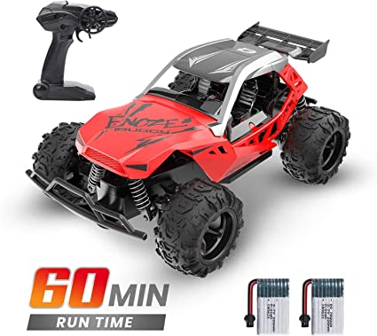 Amazon Com Deerc Remote Control Car High Speed Rc Racing Cars 20 Km H 2 4 Ghz Fast Toy Car For Kids 2 Rechargeable Batteries For 60 Min Play Toy Gifts For Boys Girls