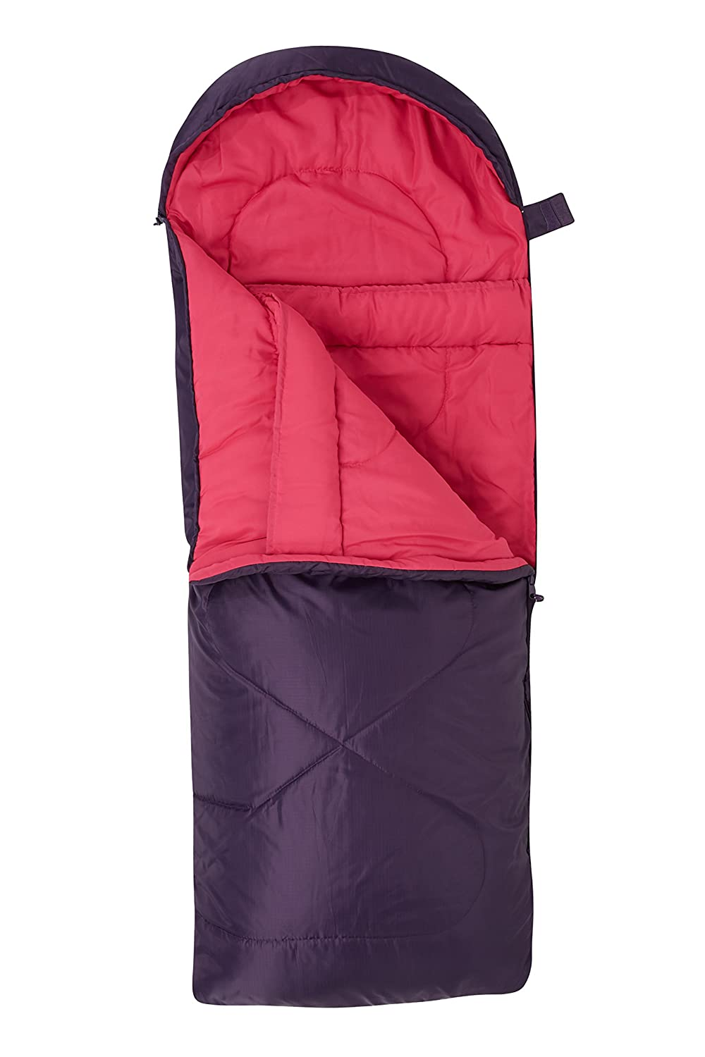 Mountain Warehouse Summit Mini Sleeping Bag – Square Camping Bag