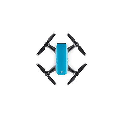 DJI Spark, Mini Drone, Sky Blue: Camera & Photo