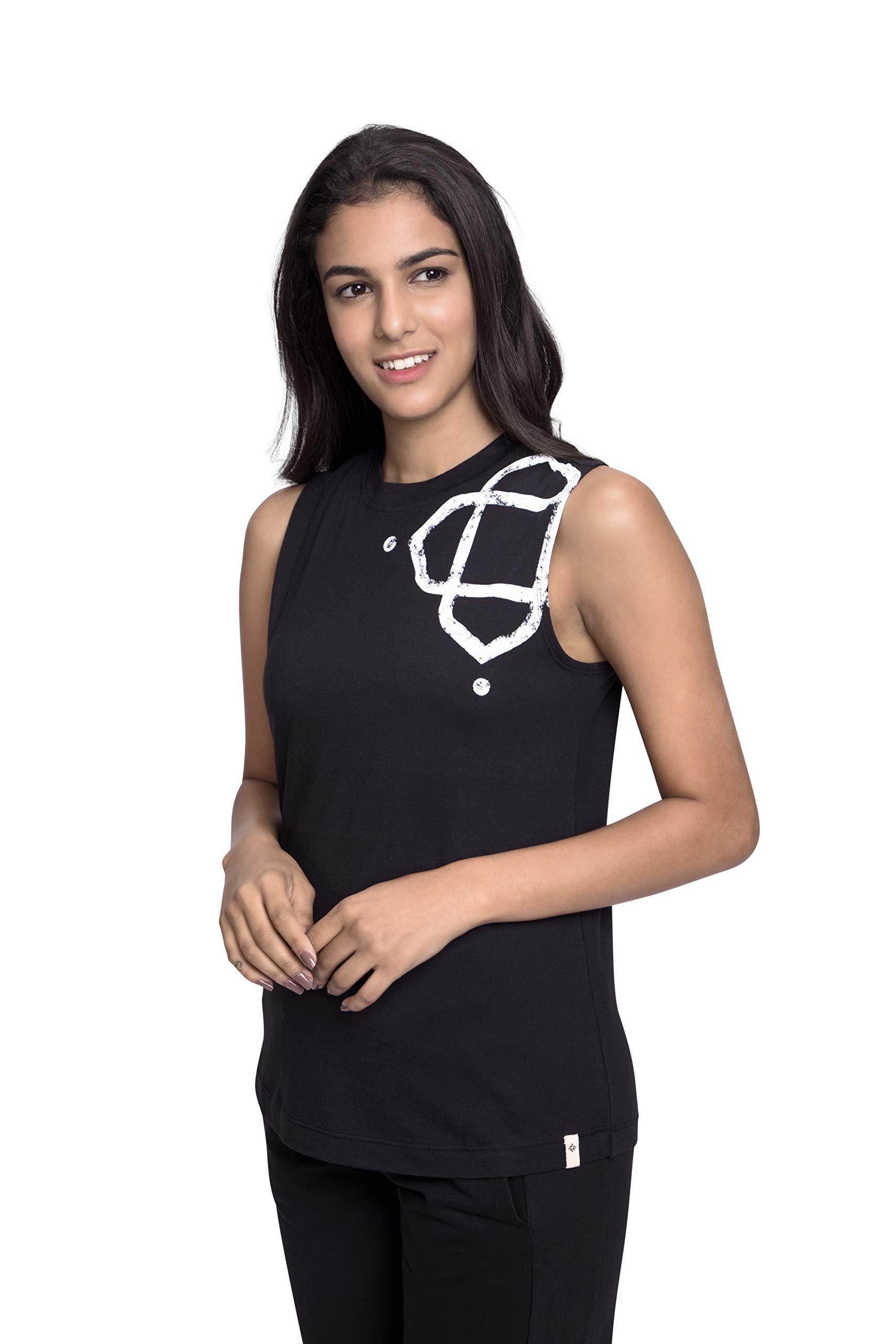 Satva Organic Cotton Lila Black, Medium by Satva