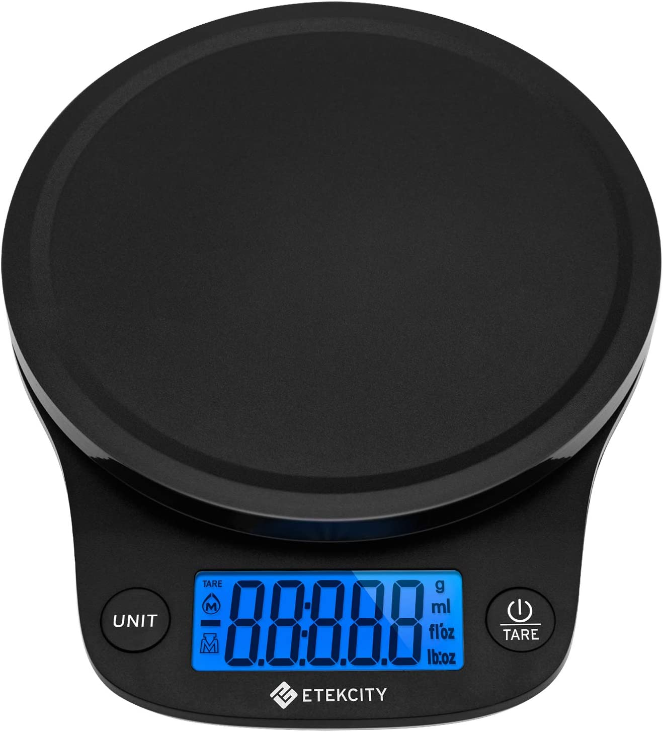 Etekcity Food Scale Digital Kitchen Weight for Cooking and Baking, Large, Black