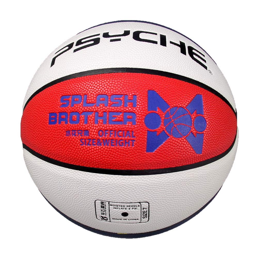 Braumz Balón De Baloncesto De Interior Al Aire Libre De Cuero De ...