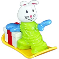 Babysid Collections Toys for 2 Year Old Boys Girls Friction Sky Safari Small Toy Bunny Size : 8 x 5 x 7 cm