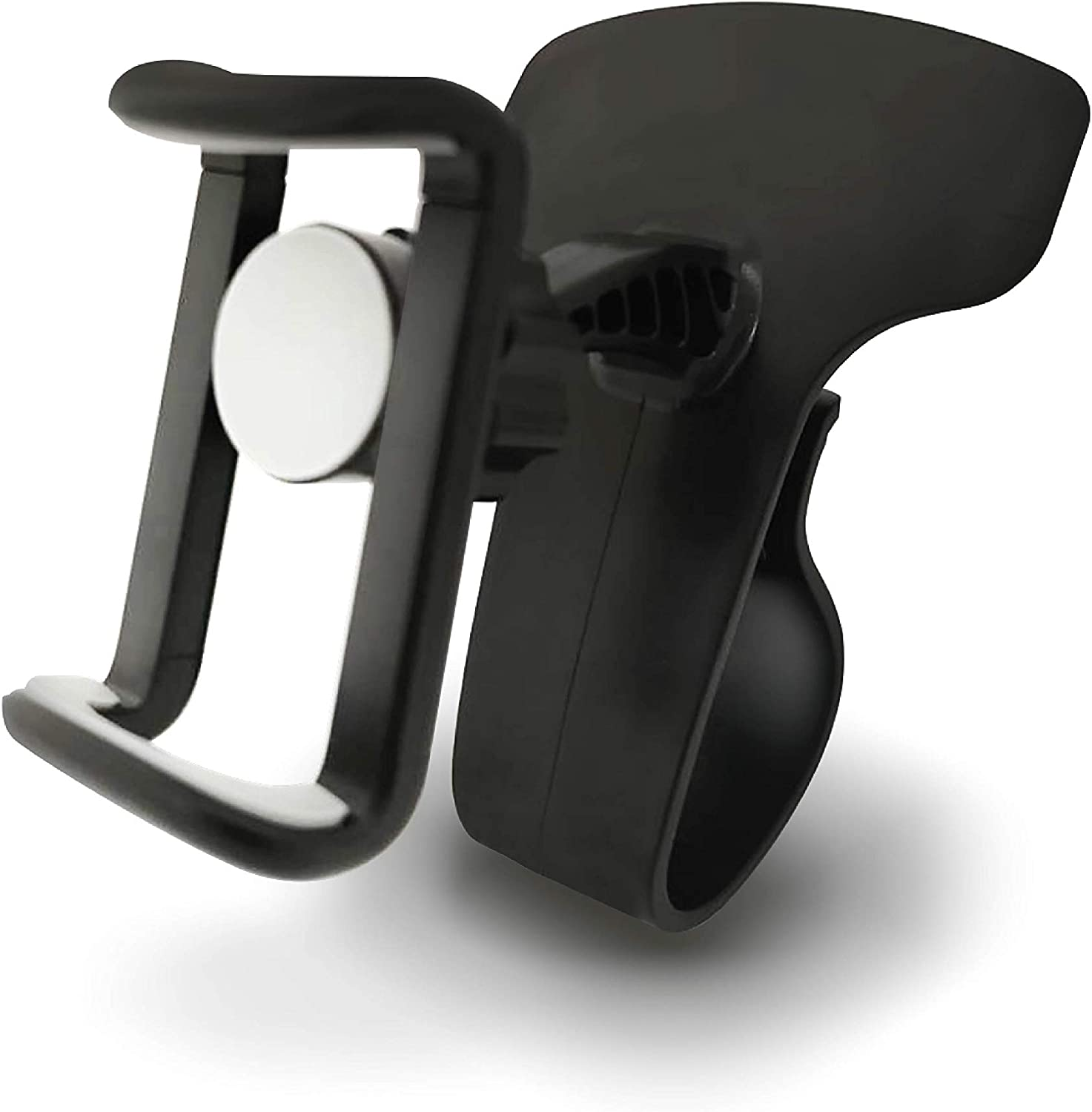 UTC Global Car Phone Holder 360-Degree Rotation Cell Phone Holder Suitable for 4 to 6.5 inch Smartphones,Rotating Dashboard Clip Mount Stand