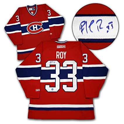 9929b2025 Image Unavailable. Image not available for. Color  Patrick Roy Montreal  Canadiens Autographed Retro CCM Hockey Jersey