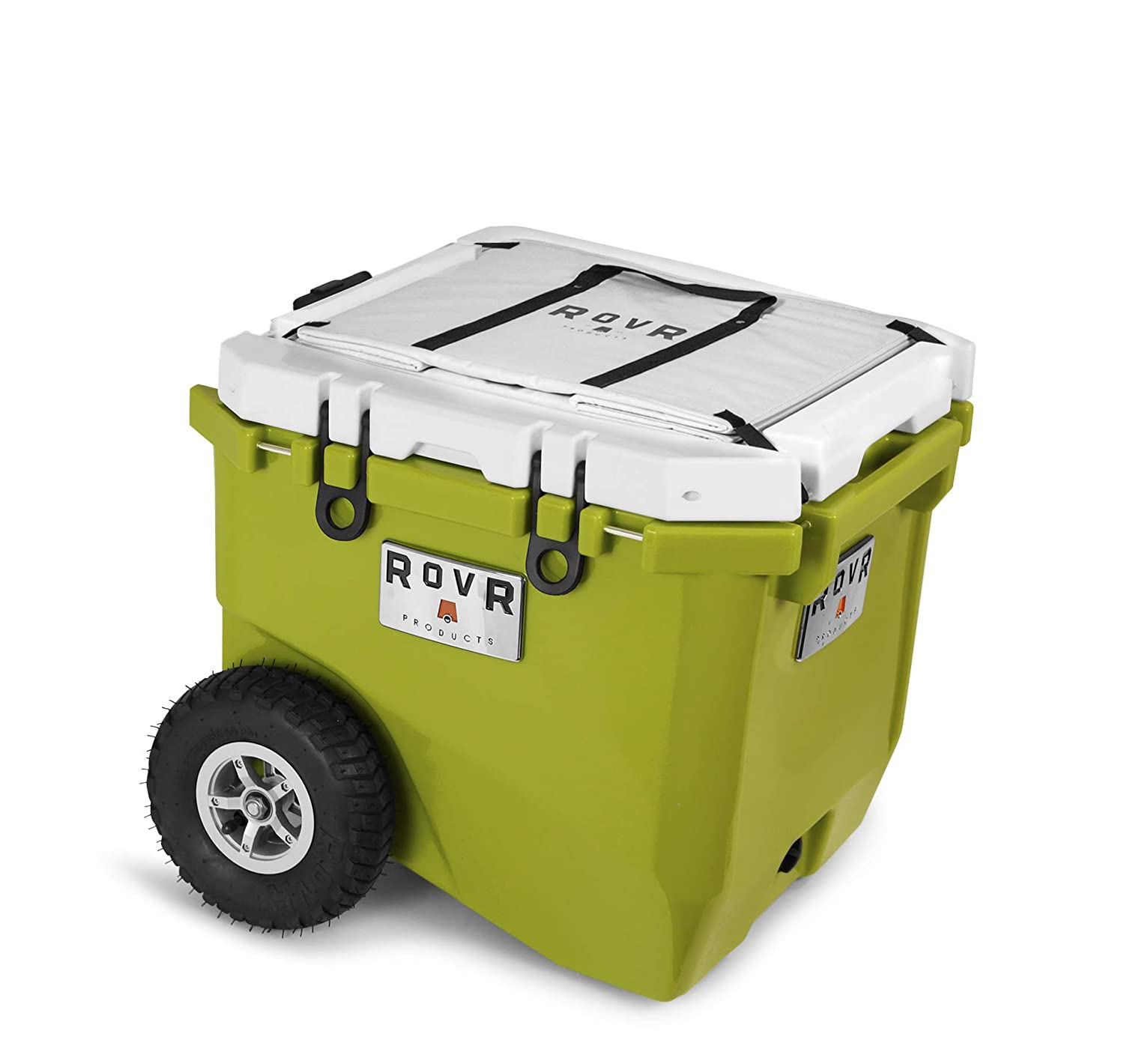 RovR Wheeled Camping Rolling Cooler with Wheels 45 qt  Best Coolers With Wheels