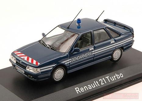 NOREV NV512116 Renault 21 Turbo 1989 GENDARMERIE 1:43 MODELLINO Die Cast Model