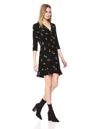 ad9fe4594c4 The Kooples Women's Popcorn Flower Dress: Amazon.co.uk: Clothing