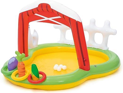 Bestway 53065 - Piscina Hinchable Infantil Granja 175x147x102 cm ...