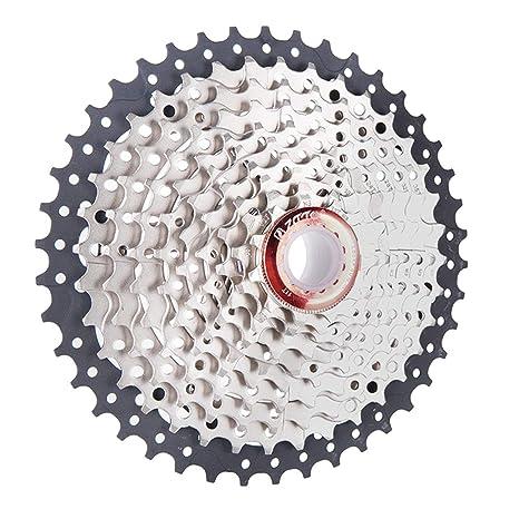 WOSOSYEYO Volantes ZTTO Plegables para Bicicletas de montaña 11-42T Bicicleta de 10 velocidades Tipo