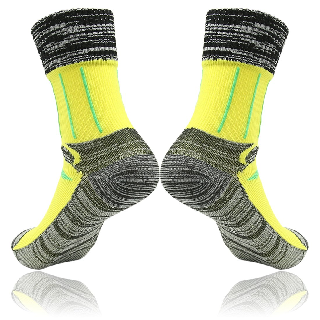 RANDY SUN Unisex Sport Climbing Skiing Trekking Hiking Socks SGS Certified 100/% Waterproof Breathable Socks,