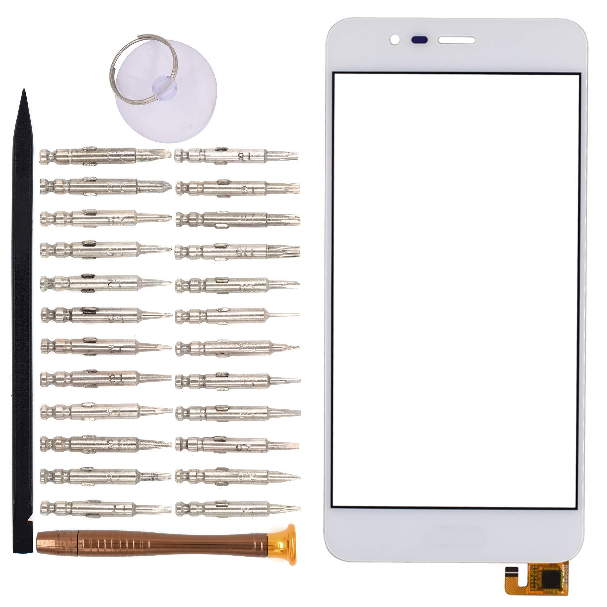 Vidrio Frente c/ Touch Screen Blanco para Asus Zenfone 3 Max