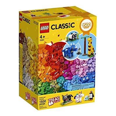 LEGO Classic Creator Fun 11011 Bricks and Animals New for 2020 (1500 pcs): Toys & Games