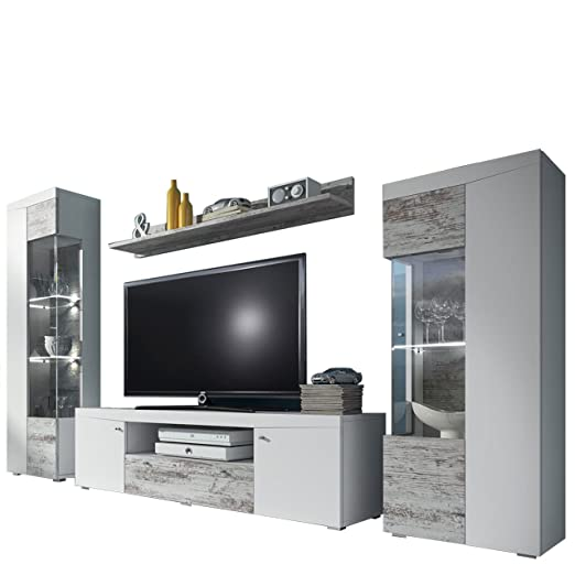 Mirjan24 Outlet Wohnwand Dolores 10 Anbauwand Tv Lowboard