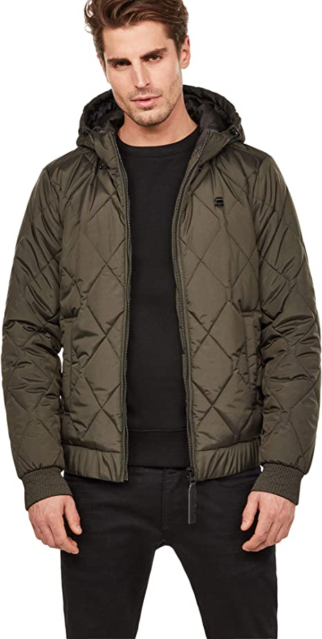 TALLA XS. G-STAR RAW Whistler Meefic HDD Quilted Bomber Chaqueta para Hombre