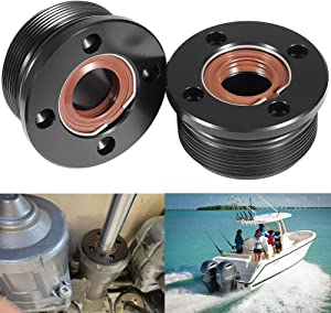 Yoursme Trim Cap Cylinder with Seals Suitable for Yamaha 200-300 HP Replacement OEM 61A-43821-00-00 FSM040 (2PCS)