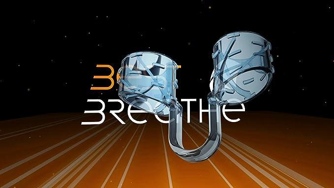 Best Breathe Dilatador Nasal, Mejorar Respiración Nasal, Antironquido, para Aumentar Rendimiento Físico y Deportivo, Forma anatómica, Antes Rinair