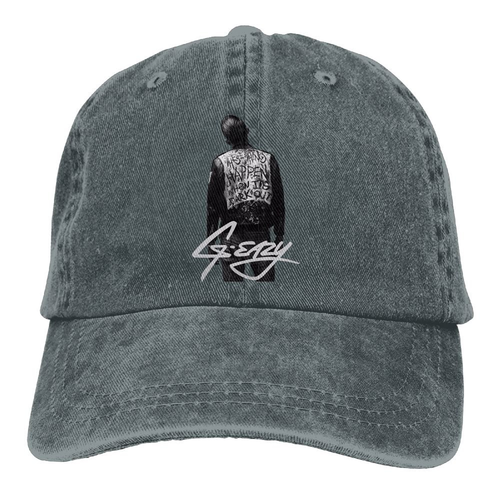 Amazon.com  Ulongpoq Unisex G-eazy When It s Dark Out Cotton Baseball Cap  Washed Dyed Ball Dad Caps Hats Adjustable Ash  Sports   Outdoors 7a6c0a0e7662
