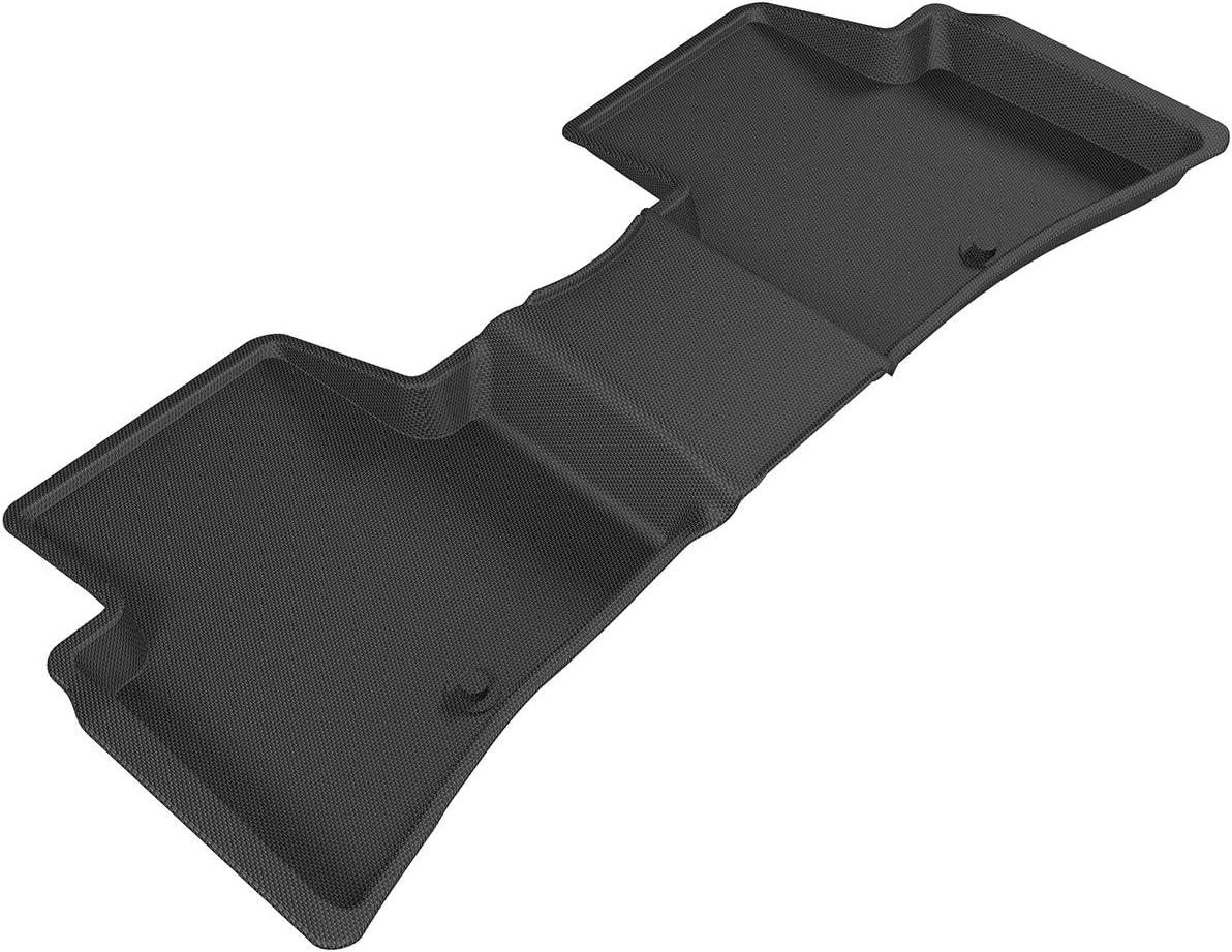 Kagu Rubber 3D MAXpider Complete Set Custom Fit All-Weather Floor Mat for Select Hyundai Tucson Models Black