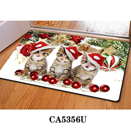 christmas door mats outdoor. Funny Welcome Mats, Cute Pussy Cat Outdoor Indoor Christmas Doormat Floor Mat For Bathroom Kitchen Door Mats E