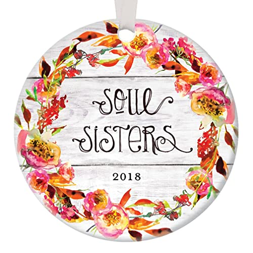 soul sisters 2018 best friends christmas ornament keepsake women ladies friend for life friendship bestie - What Should I Get My Best Friend For Christmas